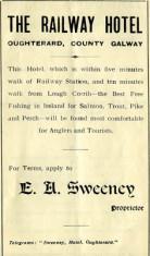 Railway Hotel promotional leaflet c.1930