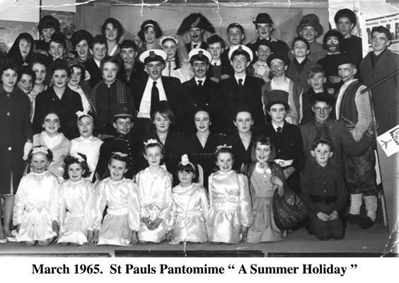 St Paul's Pantomime. 1965