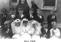 First Holy Communion. 1968