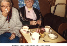 Barbara Clancy, Wellfield and Mrs. Lydon, Maam