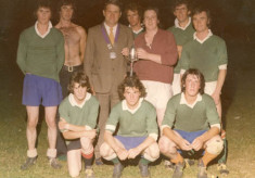 Tommy Welby and winners of Oughterard Festival Trophy, 1977