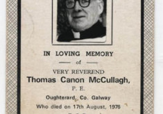 Canon McCullagh, Parish Priest, Oughterard