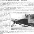 Oughterard Newsletter. The First Train to Oughterard