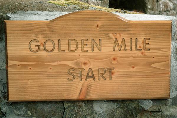 Golden Mile Signage