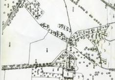 Map 1898. Detail, Lemonfield, Oughterard