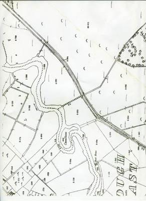 Map 1898. Detail, Fough East, Oughterard