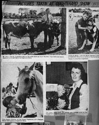 Press cutting 1974. Oughterard Show