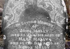 Headstone, Kilcummin Cemetery