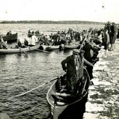 Oughterard Pier c.1940