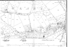 Map 1890. Detail, Clare, Oughterard