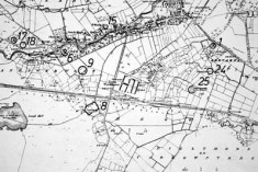 Monument map 1930. Detail, Canrawer
