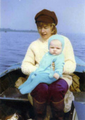 Woman on Lough Corrib