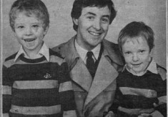 Press cutting 1984. Michael and kevin Joyce, crossword wizards