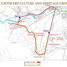 Heritage Walk map. Cregg and Canrawar
