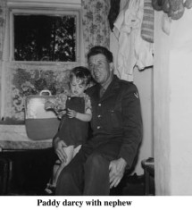 Paddy Darcy with his nephew
