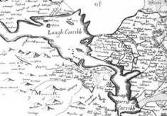 Map of Lough Corrib c.1600