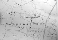 Map c.1800. Detail, Porridgetown West