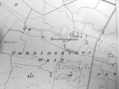 Map c.1800. Detail, Porridgetown West