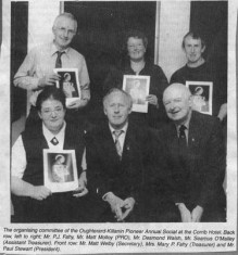 Press cutting. Oughterard Pioneers