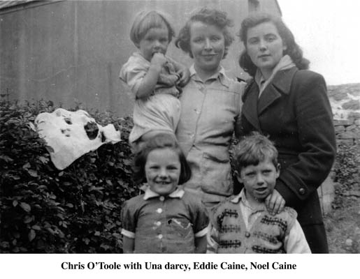 Chris O'Toole, Una Darcy, Eddie and Noel Caine