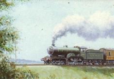 M.G.W.R Irish Steam Train