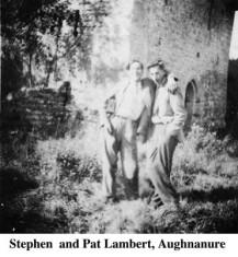 Stephen and Pat Lambert at Aughnanure Castle