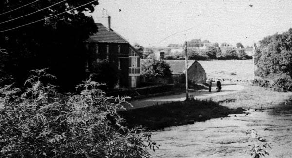 Looking across the Owen Riff river towards Glann