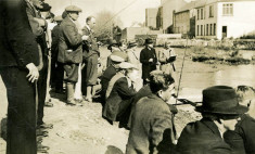 Fishing competition c.1950. Owen Riff