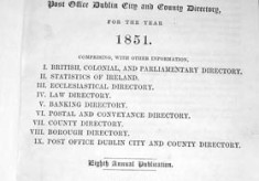 Thom's Irish Almanac. 1851