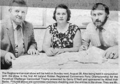 Press cutting 1983.Oughterard Show