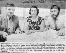 Press cutting 1983.Oughterard Show