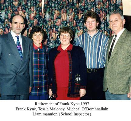 Frank Kyne Retirement 1997