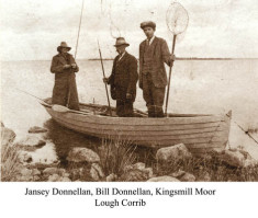 Kingsmill Moor, Jamsie and Bill Donnellan Fishing on Lough Corrib