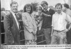 Press cutting. Oughterard Show