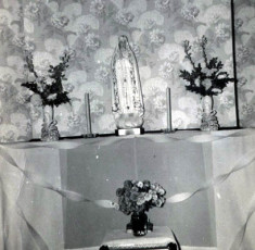 Madonna Statue