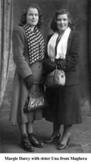 Margie  and Una Darcy, Maghera