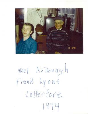 Noel McDonagh and Frank Lyons