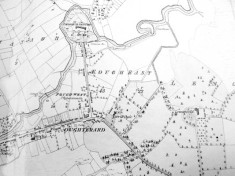 Map of Oughterard c.1825