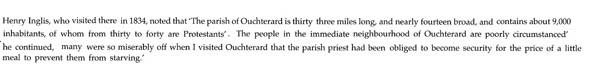 Reference to Oughterard by Henry Inglis 1834