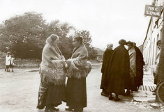 Women at the Post Office, Oughterard