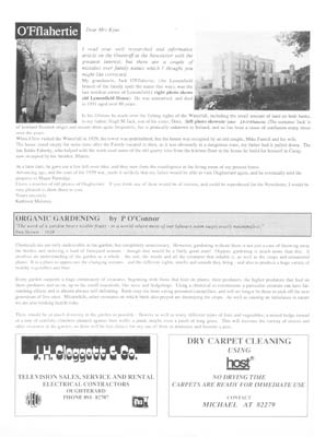 Oughterard Newsletter. The O'Fflaheries