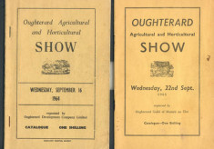 Oughterard Agricultural and Horticultural Show Covers 1964-1965