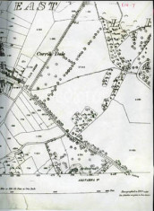 Map 1890. Detail, Corribdale