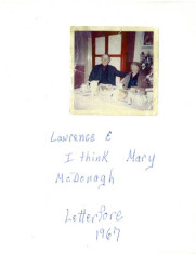 Lawrence and Mary McDonagh