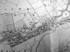 Map c.1800. Detail, Sandymount, Oughterard