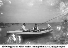 Roger and Mick Walsh Fishing