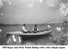 Roger and Mick Walsh Fishing