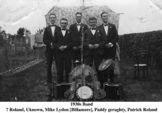 Roland, Unknown, Mike Lydon, Paddy Geraghty, and Patrick Roland