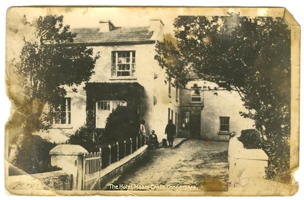 Peacock's Hotel Maam Cross c.1890