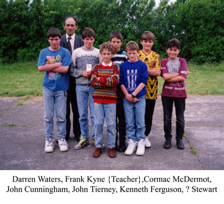Group Photograph with Frank Kyne